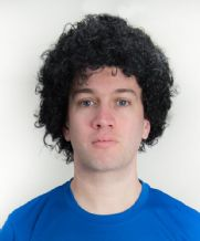 Diego Maradona Style Football Fancy Dress Black Afro Wig
